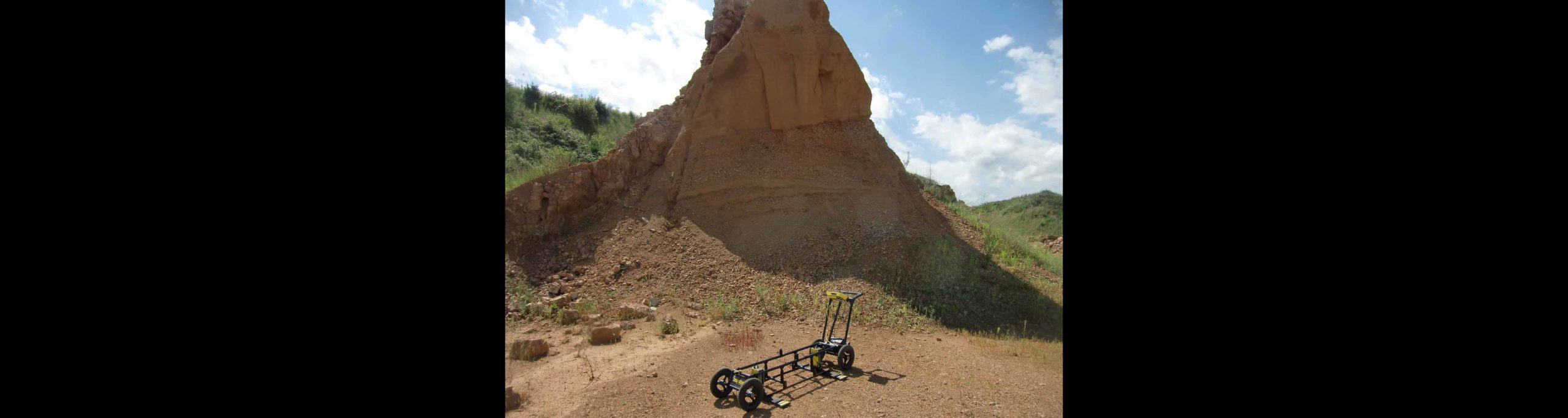 Mapping Sand and Gravel With GPR